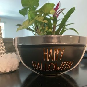 Black/Orange Halloween Rae Dunn Bowls